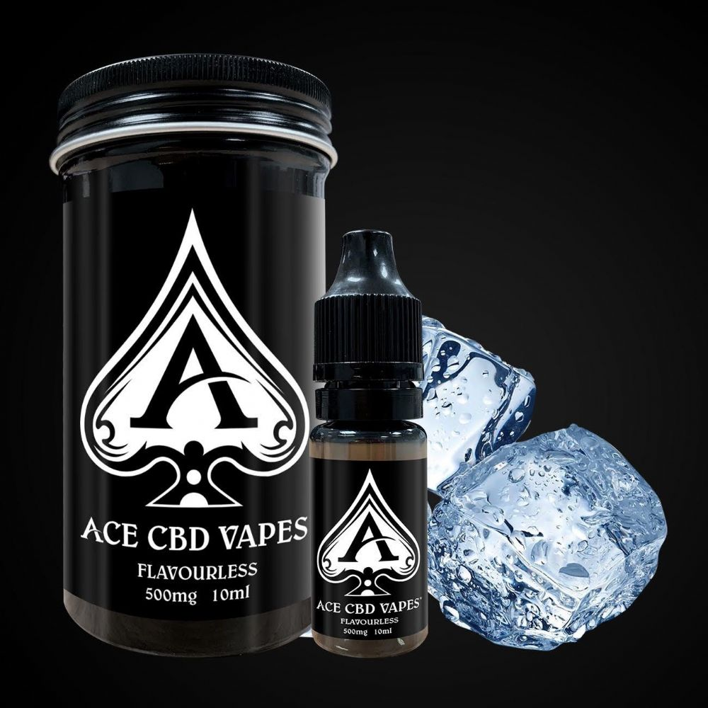 ACE CBD FLAVOURLESS VAPE 500MG (10ml)